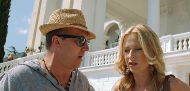 Борис и Лада обсуждают отъезд