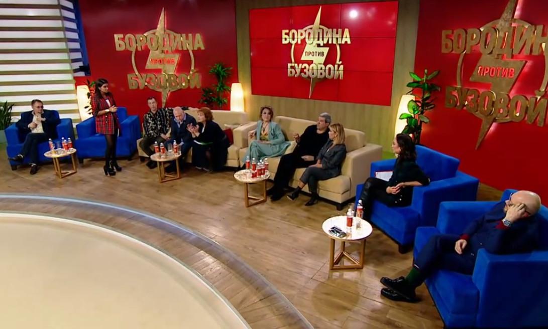 Ксения доказывает депутатам, что они не правы